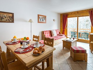 1 BR Alcove Apartment for 6 at Lagrange Le Hameau du Rocher Blanc