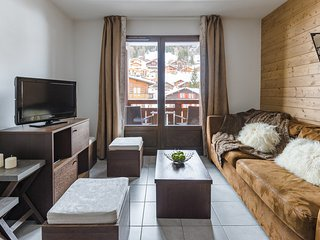 Appartement 3 pieces charmant a 400m du centre de la station!
