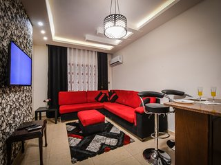 AlQimah Elegant Modern 2 Bedrooms Apartment in Amman Free Wifi