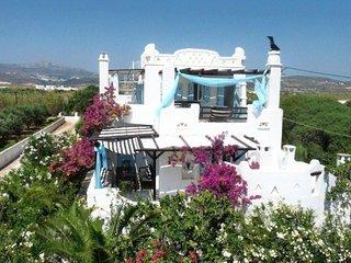 villa Cycladique  en bord de mer