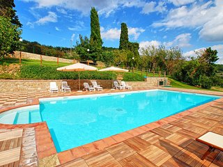 9 bedroom Villa in Morra, Umbria, Italy : ref 5689775