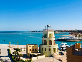 3 bedrooms appointment/ El Gouna/ New Marina