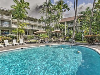 NEW! Kona Studio w/Pool Access - Steps from Beach!