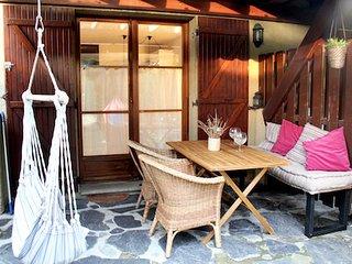 Apartamento con jardín privado en la Cerdanya