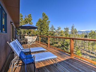 NEW! Rustic Home w/Deck & Hot Tub Near Winter Park