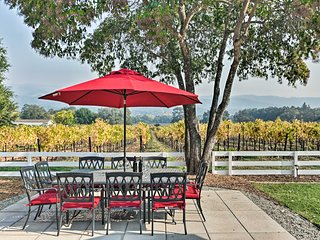 Beautiful Sonoma House w/ Patio & Vineyard Views!