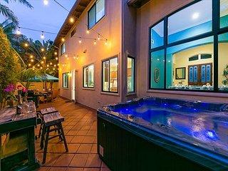 25% OFF FEB+MAR- Spanish Style Luxury Beach Home, Water Views, Block to Ocean