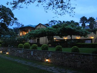 The wonderful Hotel located on two acres of tropical gardens