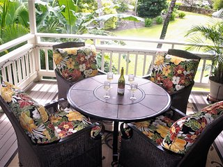 FULLY A/C PRIVATE HAWAIIAN PLANTATION-STYLE  VILLA IN SUNNY POIPU BEACH/KAUAI