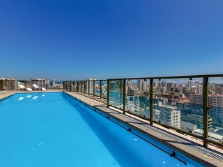 Equipado departamento con vista a la ciudad - Equipped apt with city views