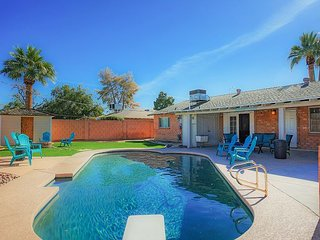 Old Town Remodel w/ Private Pool, Lush Backyard & Fire Pit