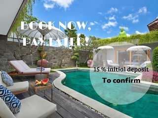 NEW! DESIGN WINNING 7Bed/7Bath VILLA*CAR*BEACH*QUIET