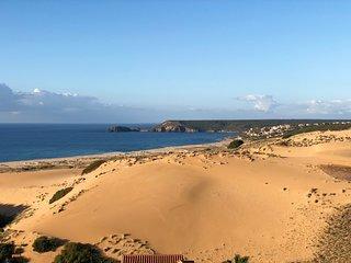 Panorama Ferienhaus Meer und Dune
