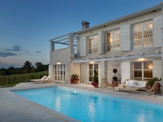 Modern Moonlight Villa, in Istria, with a Pool