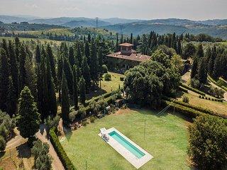 8 bedroom Villa in Turbone, Tuscany, Italy : ref 5690475