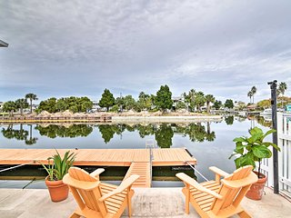 Waterfront Hernando Beach Home w/ 60-foot Dock!