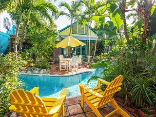 Old Town Key West home with shared lazy river pool, beautiful gardens, and more!