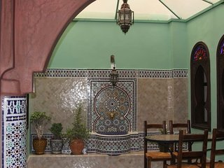 1 Typical Traditional Moroccan House with a charming atmosphere