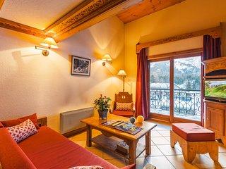 1 BR Alcove Apartment for 4 at Lagrange Le Cristal d'Argentière