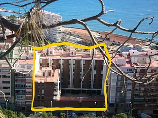 BEACH-MOUNTAIN DOWNTOWN ALICANTE-WIFI-A/C-SMART TV