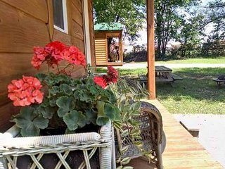Kim's Cabins #2 - beautiful new, modern cabin sleeps 7