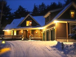 Adirondack Lodge Retreat Secluded Mountain Location Great Location To Town&Lakes