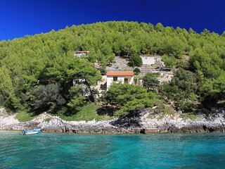 Two bedroom house Cove Bratinja Luka (Korčula) (K-12599)