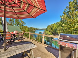 NEW! Lake Keowee House w/Screened-In Porch & Dock!