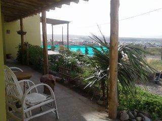 Hospedaje de campo en Puerto Madryn - Monoambiente matrimonial para 2/4 personas