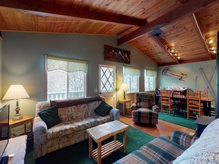 NEW LISTING! Cozy chalet at base of the mountain, near skiing & restaurants