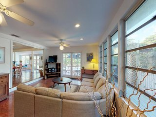 NEW LISTING! Spacious home with pool, balcony, and a block from Duval Street