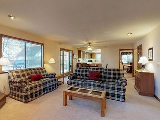 Dog-friendly retreat w/ private hot tub, deck, and large yard - plenty of charm!