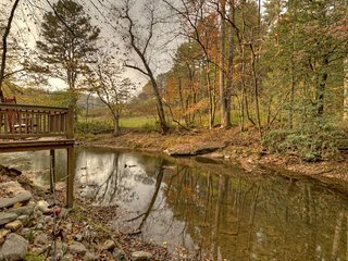 1 A View of the Creek- Blue Ridge Cabin Rentals