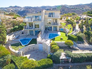 Beautiful villa near Beach & Amenities,Private pool,Sea view,Jazuzzi-Helios
