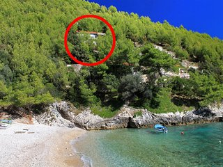 One bedroom house Cove Bratinja Luka (Korčula) (K-9224)