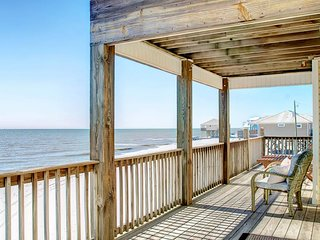 NEW LISTING! Dog-friendly home w/beach access & amazing views from decks & porch