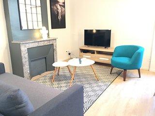 Appartement *Valence d'agen * 2 chambres * centre ville * WIFI et MENAGE INCLUS
