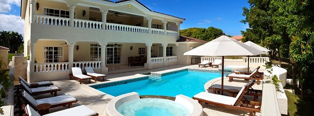 This is a 7 BRS/7 BTH. private pool/hot tub Villa, at Puerto Plata, DR. a dream paradise vacation.