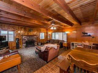 NEW LISTING! Cozy cabin w/free WiFi, full kitchen & wood fireplace -near lake