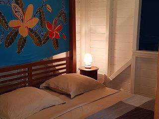 Bungalow en bois neuf T2 de 36 m² à Deshaies à 800 m de la plage de la perle!