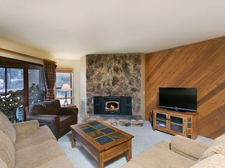 The Living Area Has A Large LCD Television