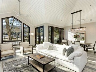 Luxury Snowmass Home On X-Country Ski Trails. Outdoor Hot Tub. Bedrooms With En-
