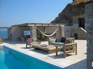 Korissia Villa Sleeps 10 with Pool and Air Con - 5433455