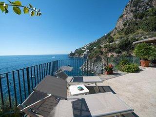 Praiano Villa Sleeps 8 with Pool Air Con and WiFi - 5218159