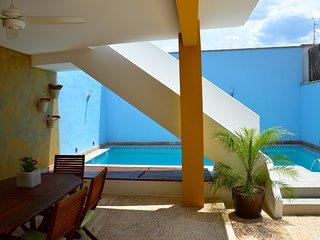 La Isla del Jucar: Casa Rural con piscina y BBQ