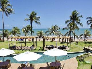 Apartamento beira-mar in Bali Bahia, melhor condomínio de Itacimirim.