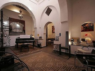An art lover's home located in the best part of the Marrakech Medina