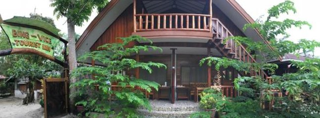 The guesthouse facade