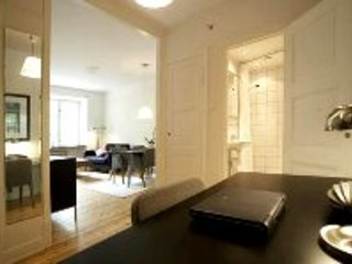 Great 1 Junior Apartment in Stockholm, alquiler de vacaciones en Solna