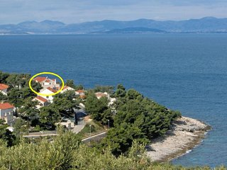 One bedroom apartment Postira (Brač) (A-3244-b)